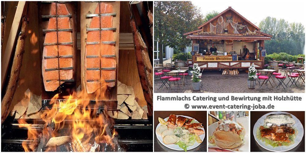 Catering Service mit Original Flammlachs