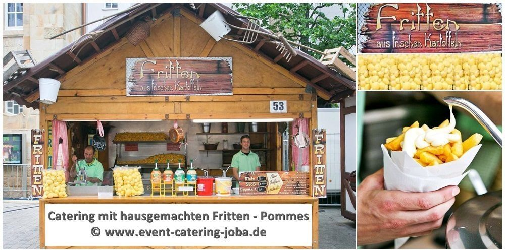 Pommes Catering selber machen