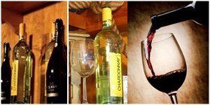 Weisswein, Rotwein, Catering Getränke