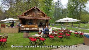 Flammlachs Hütte Jonny Barber im Kurpark Bad Pyrmont