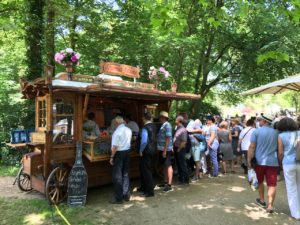 Gartenfest Hanau 2017 mit Gourmetkutsche und Erfrischungsgetränken