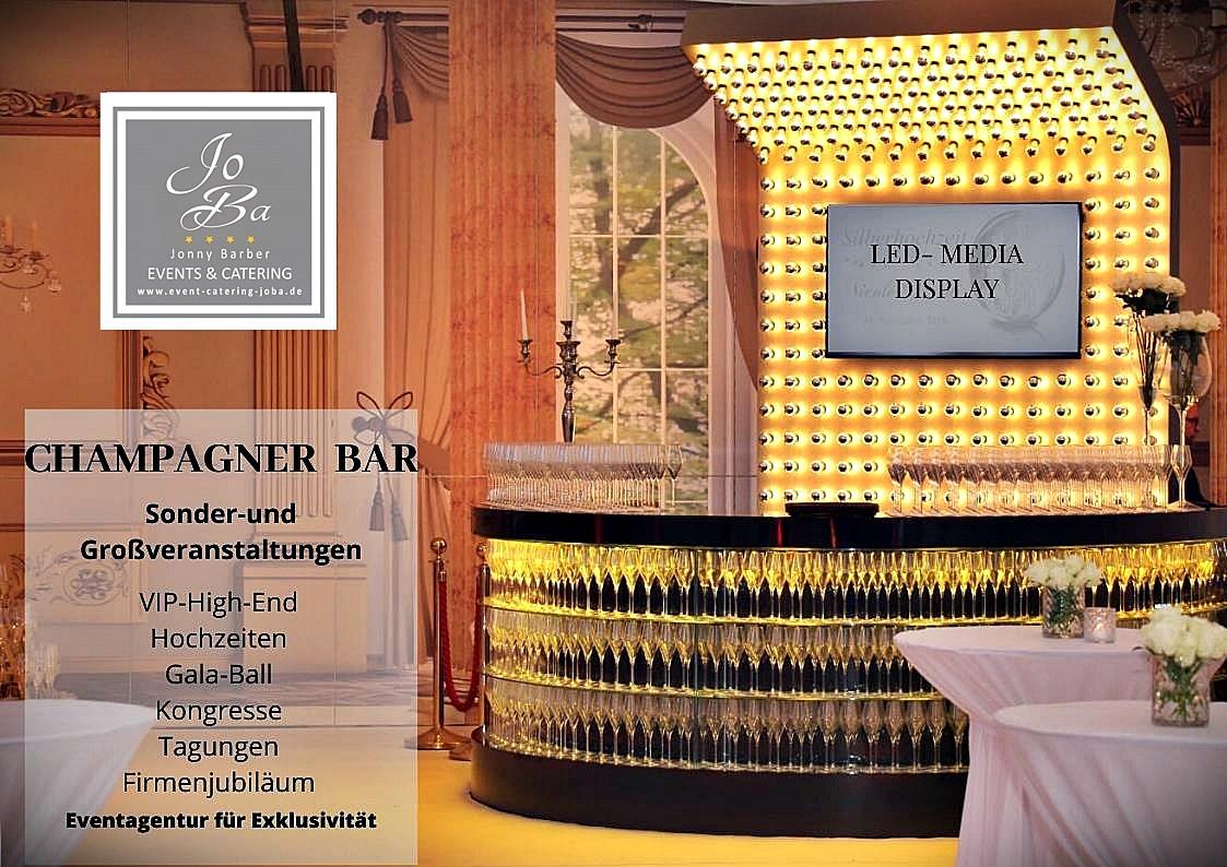 Champagnerbar Sektbar zu mieten