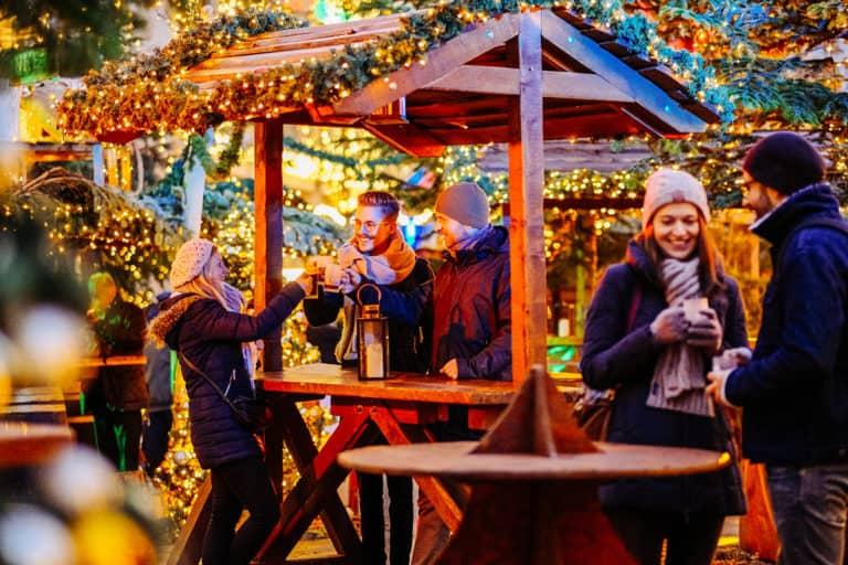 JOBa Krippentisch Weihnachtsmarkt
